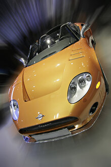 Yellow sports car - KS00070