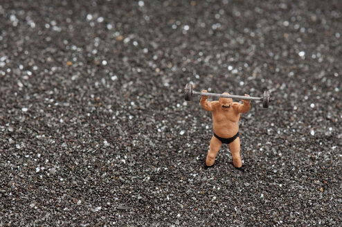 Weightlifter Figurine - AWDF00470