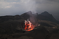 Japan, Suwanose jima volcano erupting - RMF00432