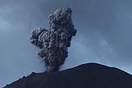Indonesia, Sumatra, Krakatoa volcano erupting - RMF00396