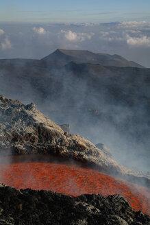 Italy, Sicily, Lava flow from Etna volcano - RMF00357