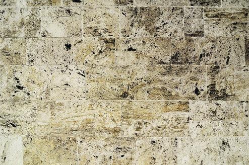 Germany, Munich, Full frame of stone wall - MBF00966