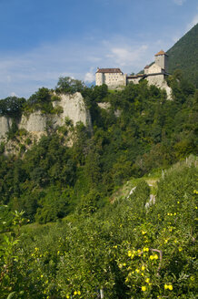 Italy, South Tyrol, Castle on mountain - SMF00610