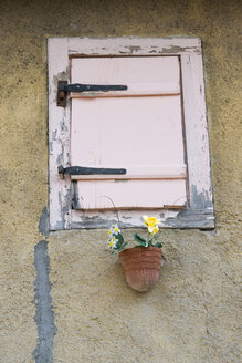 France, Alsace, View of old window - AWDF00551
