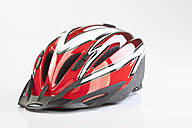 Bicycle helmet on white background - MAEF002394