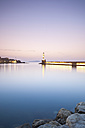 Greece, Crete, Chania, View of harbor at dusk - MSF002400