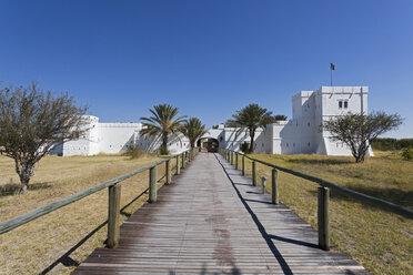 Africa, Namibia, Fort namutoni in etosha national park - FOF002523
