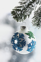 Christmas bauble, close up - WBF000202