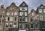 Netherlands, Amsterdam, View of old facade - WBF000225