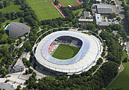 Germany, Hannover, Aerial view of football stadium - WBF000233