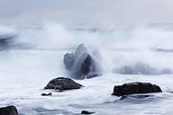 Spain, Canary Islands, La Gomera, La Playa, View of sea waves - SIEF000004