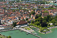 Germany, Constance, View of harbour and city - SHF000547