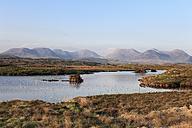 Ireland, County Galway, View of twelve bens with connemara national park - SIEF000312