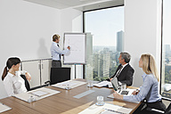 Germany, Frankfurt, Business people in conference room - SKF000538