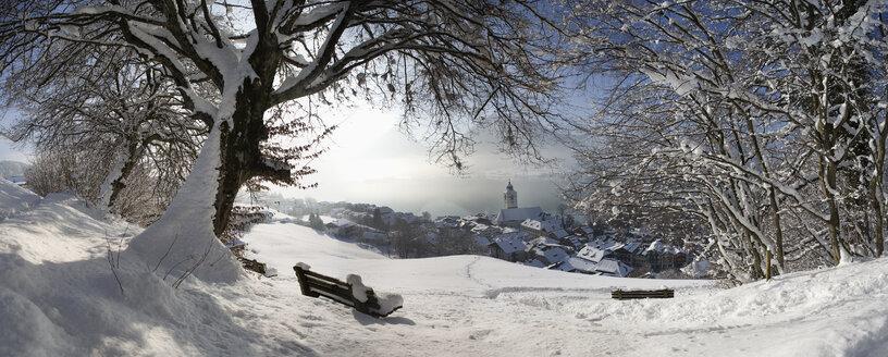 Austria, Salzkammergutal, View of st. wolfgang city - WWF001848