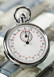 Close up of stopwatch - WBF001028