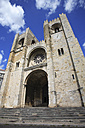 Portugal, Lisbon, View of se cathedral entrance - PSF000446