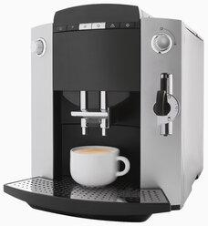 Coffee machine on white background, close up - WBF001208