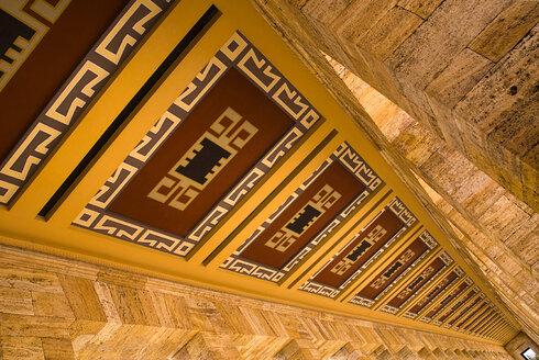 Turkey, Cappadocia, Ankara, Anitkabir, Mausoleum of kemal ataturk - PS000497