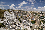 Turkey, Cappadocia, Goreme, View of town - PSF000510