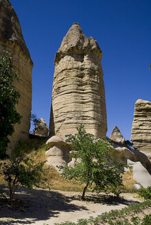 Turkey, Cappadocia, Goreme, View of rock formation - PSF000518