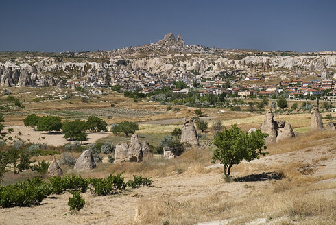 Turkey, Cappadocia, Goreme, View of valleys - PSF000535