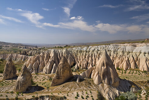 Turkey, Cappadocia, Goreme, View of rose valley - PSF000540