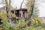 Germany, Kratzeburg, View of tree house - WESTF016590