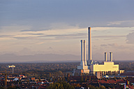Germany, Bavaria, Munich, View of waste incineration and power plant - FOF003321