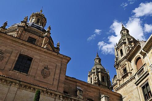 Europe, Spain, Castile and Leon, Salamanca, View of historic university - ESF000126