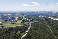 Europe, Germany, North Rhine-Westphalia, Cologne, Eifel, Aerial view of motorway A4 - CS015303