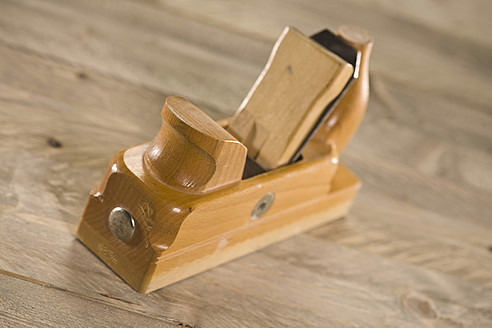 Old wood planer, close up - HKF000393