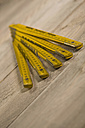 Folding ruler, close up - HKF000395
