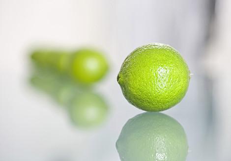 Row of limes, close up - HKF000424
