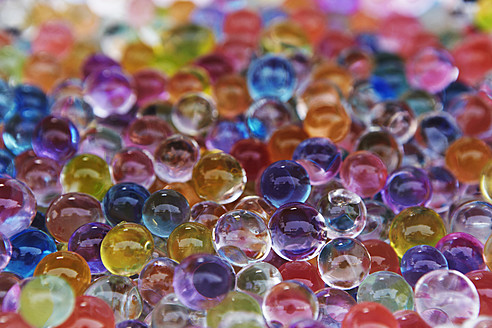 Full frame of colorful marble balls - TLF000582