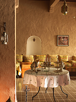 North Africa, Morocco, Kasbah style restaurant - BSC000078