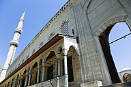 Turkey, Istanbul, View of Blue Mosque - PSF000611