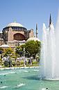 Turkey, Istanbul, Sultanahmet, View of Haghia Sophia Museum - PSF000617