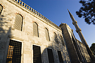 Turkey, Istanbul, View of Blue Mosque wall - PSF000618