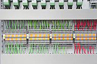 Germany, Munich, Electronic circuit board with wires - WESTF017821