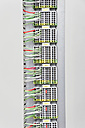 Germany, Munich, Electronic circuit board with wires - WESTF017824