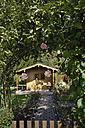 Germany, Bavaria, Munich, View of garden plot entrance - TC002022