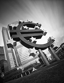 Germany, Hesse, Frankfurt, View of European Central Bank - WAF000003