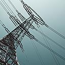 Hamburg, Power pole against clear sky - TLF000612