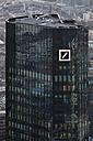 Germany, Frankfurt, View of Deutsche Bank with city - FO003760