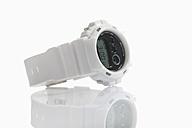 Wrist watch on white background, close up - CSF015430