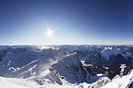 Germany, Bavaria, View of snowy mountains - SIEF002120