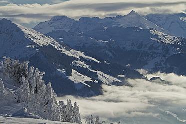 Austria, Tirol, Kitzbuehel, View of Kitzbuehel Horn - FFF001252