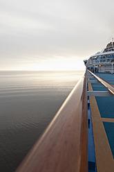 Denmark, Aarhus, View of cruise ship - MSF002565