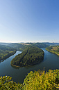 Germany, Thuringia, View of Saaleschleife - WDF001143